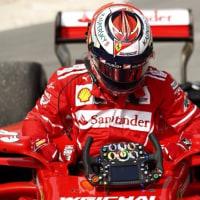 ライコネン「ターボのトラブルでマシンをとめた。明日以降の予想はできない」フェラーリ F1バーレーン金曜