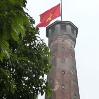旧タンロン城内の見張り塔