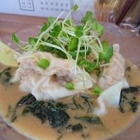 伊勢佐木町・くぬぎ屋 で ワンタンスープ