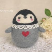 羊毛で作る☆ゆらゆら赤ちゃんペンギン♪教室inぎふ のご案内