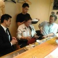 久々に 原田さん と会社の 仲間 ご来店