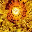 聖霊降臨の大祝日の続誦(Sequentia, 繼抒詠) Veni, Sancte Spiritus, 聖霊来り給え。天より御光の輝きをはなち給え。