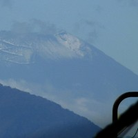 10月27日(木)浅川早朝散策+初雪の残る富士山