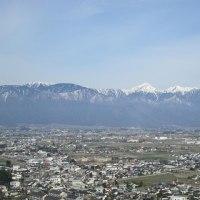 松本でぶらぶら 北アルプス展望