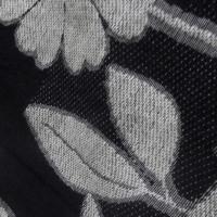 繋がった白い花と白内障