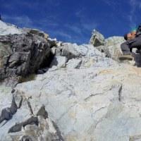 「山の日」に唐松岳から五竜岳(2)