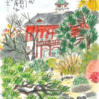 12月7日 スケッチ会 小石川植物園(東京大学大学院理学系研究科附属植物園)