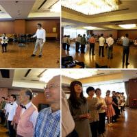 民謡合唱の練習