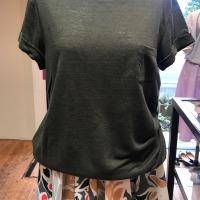 綿カットソー&麻Tシャツ