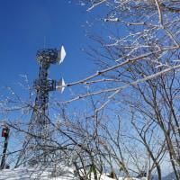 【聖山】 青い空 と 白い雪