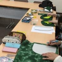 パッチワーク講習会(バードオブパラダイスのバッグ)