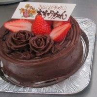 今日のケーキ・・・チョコマカロン