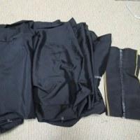 男物紬 洗い張り 正絹素材