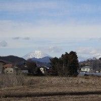 鹿沼市 上殿町散歩 日光連山 29.1.19