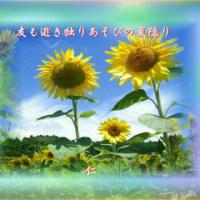 『 友も逝き独りあそびの夏隠り 』筑紫風交心rs1502