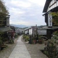 坂の馬篭宿(写真)