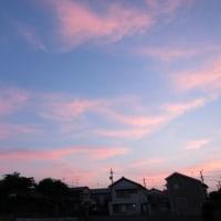 美しい夕暮れ