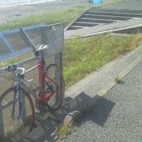木更津から保田まで『内房なぎさライン』を自転車で南下しました。