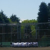 文京高校野球部練習試合 対都立昭和高等学校