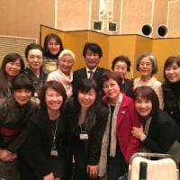 ♪ 懇親会の席に、  田村憲久・前厚生労働大臣が