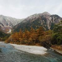 2016年10月21日(金)~23日(日) 秋深まる、北アルプス・蝶ヶ岳へ