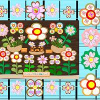 クッキー画で描いた色々の作品