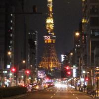 #東京タワー 大展望台にハートマークが/ #クリスマス 特別 #ライトアップ 25日まで