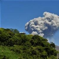 桜島爆発7回ほんとです・GWにおこしくださいさくらじま