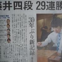 天才少年棋士・29連勝の新記録