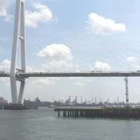 名古屋港での仕事