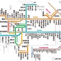 今日の行き止まり 西武多摩川線 是政駅 その1