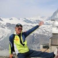 あの尖ったピークが Matterhorn(4478m)