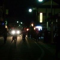 阿蘇神社の火振り神事 3月22日