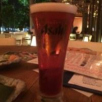 飲み物が半額!@目利きの銀次 テラス席(ソイ26)