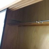 【ハンガーパイプ】メゾングッチ和室4.5畳一間半押入に設置