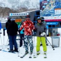 友人とのスキーと食事会