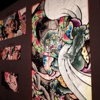 津軽錦絵回廊(弘前城雪灯籠まつり2017)