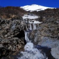 富士山 三度目なる天空の水舞い追い...
