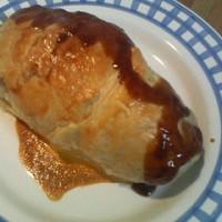 鶏肉のパイ包み焼き