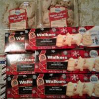 クリスマステーマの食品75%オフで買いだめ