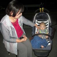 高松市三谷町の花火     平成28年8月27日