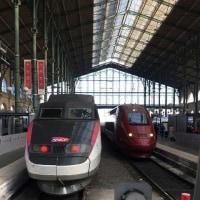 車止め フランスはパリ北駅