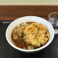 高崎駅 八起家のかき揚げ蕎麦