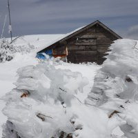 十石山(2524M)スノーシュー山行