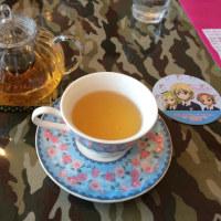 聖地でお茶