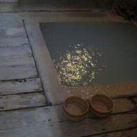 「白船荘 新宅旅館」 朝食前に家族風呂へ