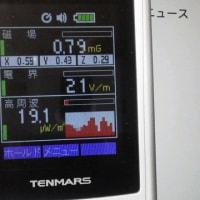 【静電気・電磁波測定:数字を落とす事に拘る!】電磁波測定器 TENMARS TM-190 の使い方