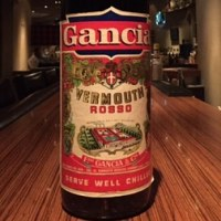 Gancia Rosso(1970's)  950ml,16%