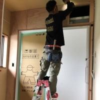 倉敷市玉島八島での住宅リフォーム現場も順調に進行中