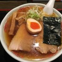 麺辰(28)のとっつあんらーめん(11)680円+煮干し油(*^▽^)ノ♪